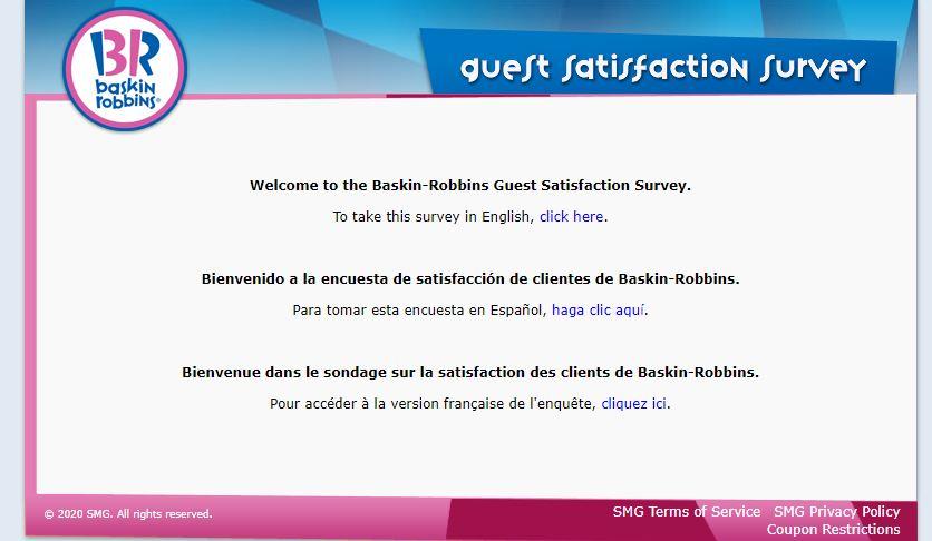 Baskin Robbins Survey 1