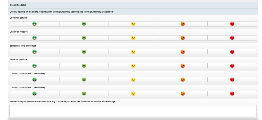 Clarks Customer Satisfaction Survey 2