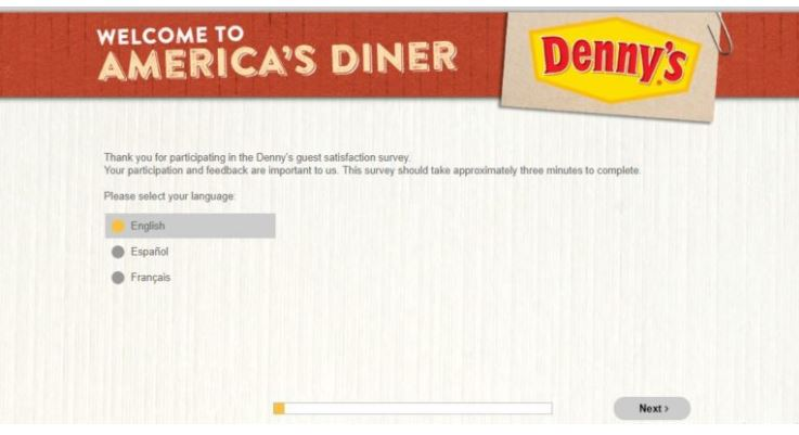 Denny's Survey
