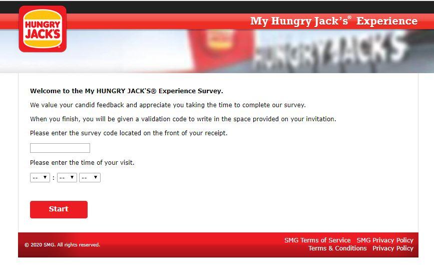 Hungry Jack's Survey 1