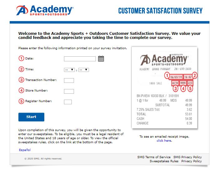 Academy Feedback Survey