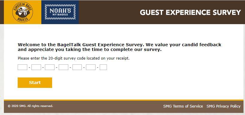 BagelTalk Guest Experience Survey