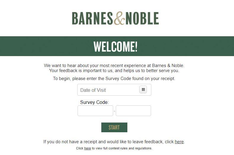 Barnes & Noble Survey