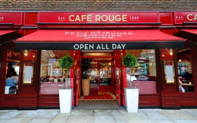 Café Rouge Feedback Survey