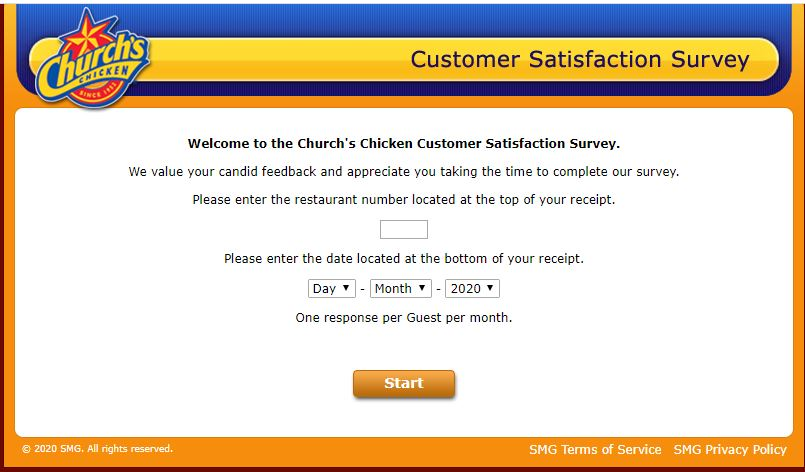 Church's Chicken Survey 2