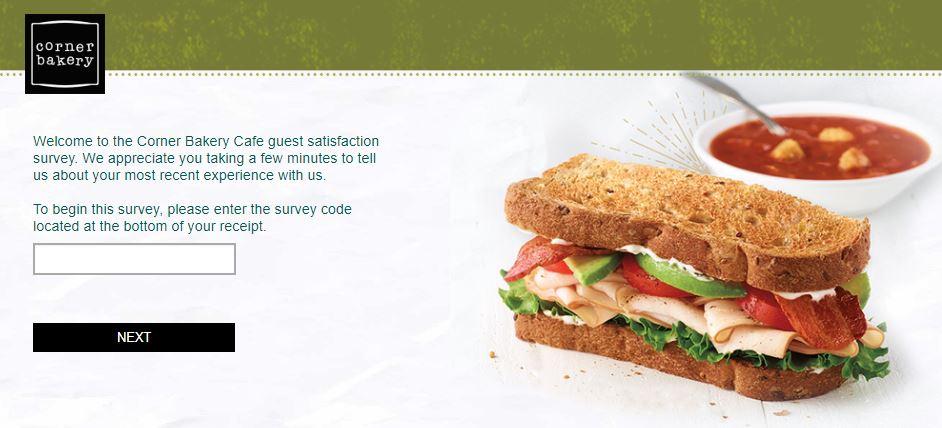 Corner Bakery Cafe Survey