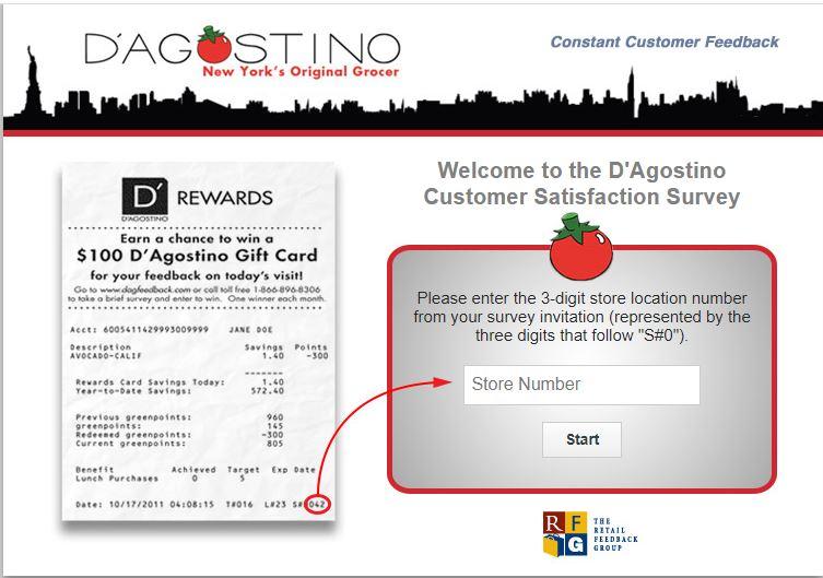 D'Agostino Survey