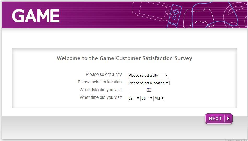 Game Customer Satisfaction Survey