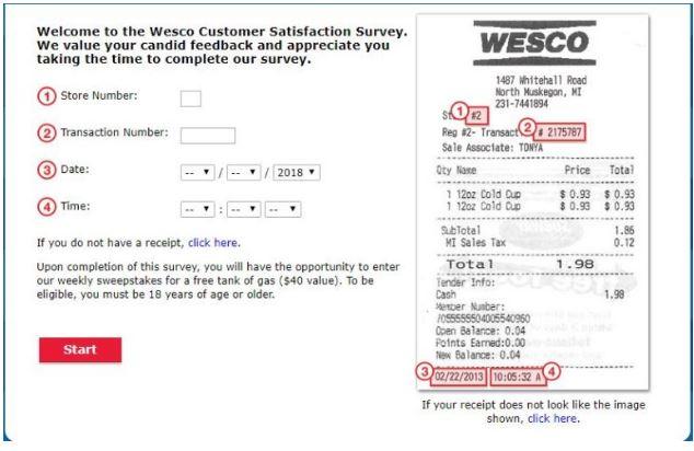 Go Wesco Listen Survey