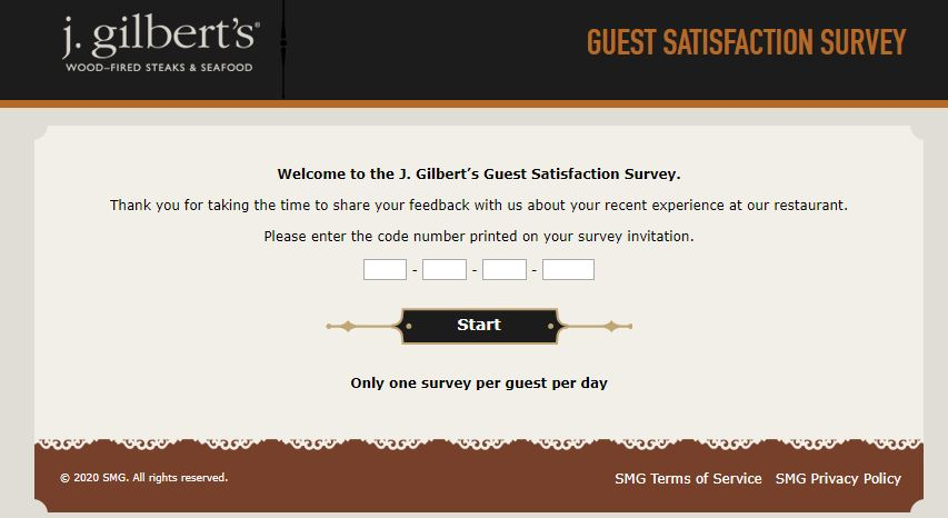 J. Gilbert's Survey