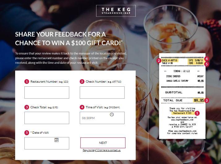 Kegfeedback Survey