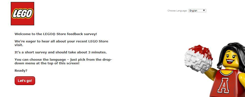 LEGO Store Survey 1