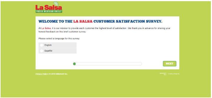 La Salsa Survey
