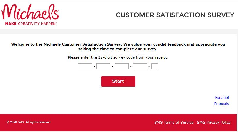 My Michaels Visit Survey