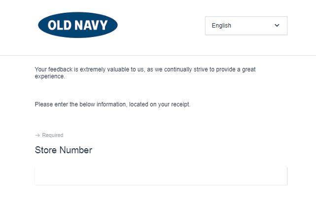 Old Navy Feedback