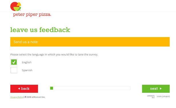 Piper Pizza Survey