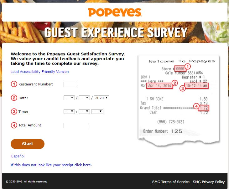Popeyes Survey