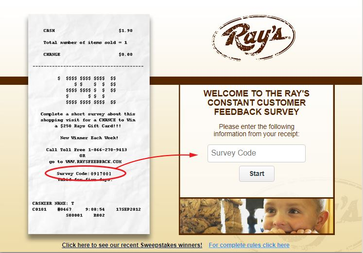 Ray's Feedback Survey