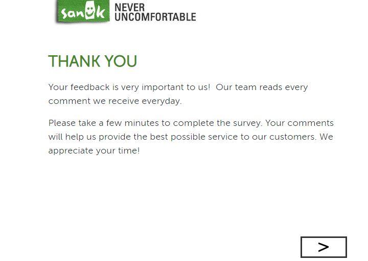 Sanuk Survey