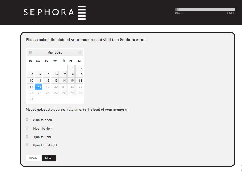 Sephora Canada Survey