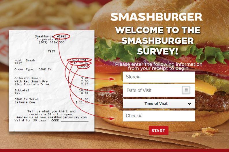 Smashburger Survey