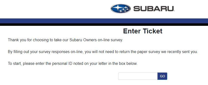 Subaru Survey