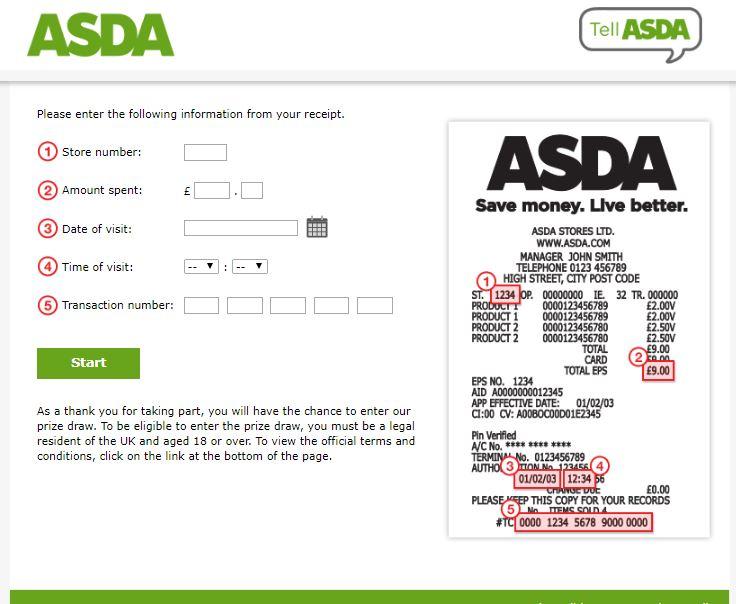 Tell ASDA Survey