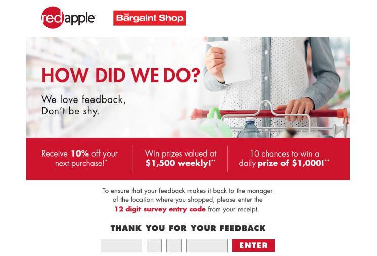 The Bargain Shop Survey