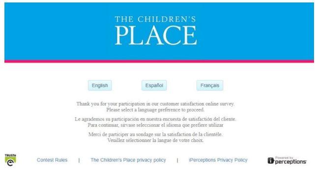 The Children's Place Survey 1