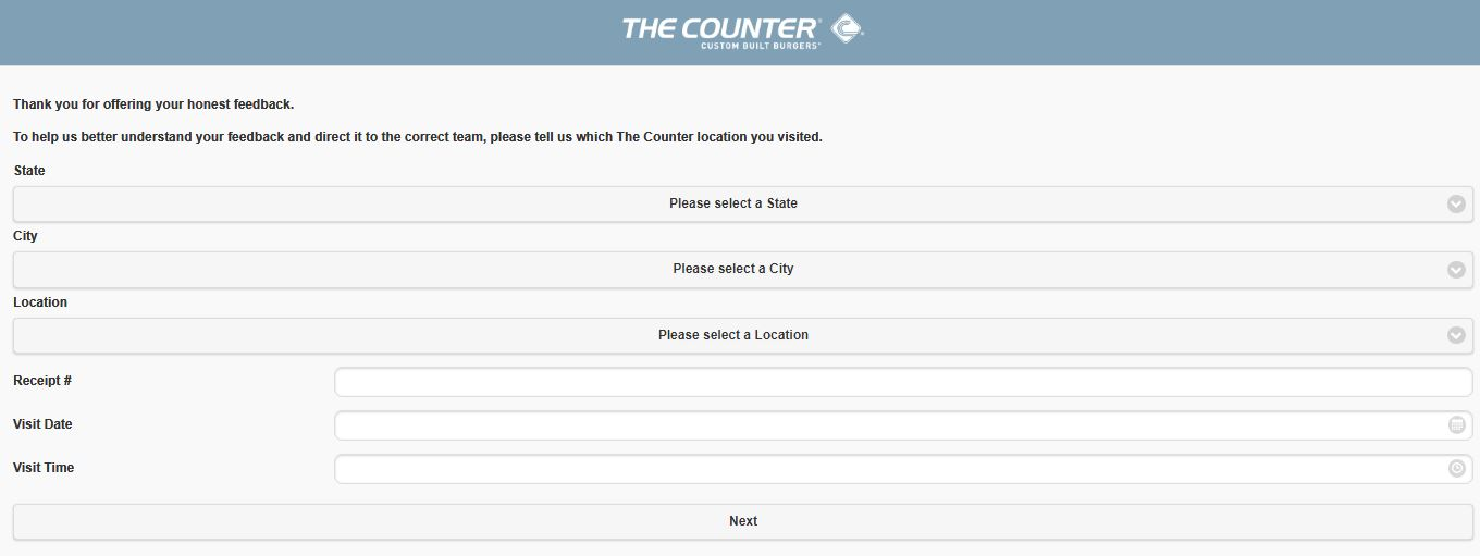 The Counter Customer Satisfaction Survey 2
