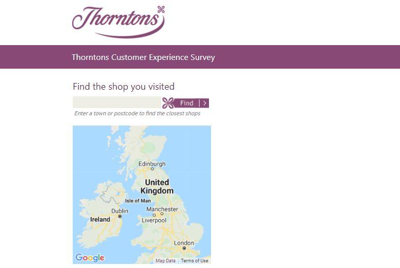 Thorntons Customer Experience Survey 2