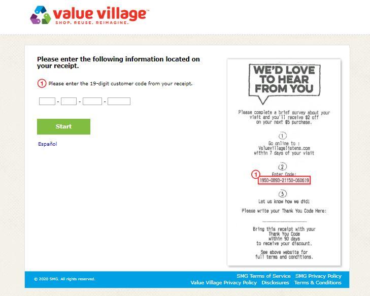 Value Village Survey