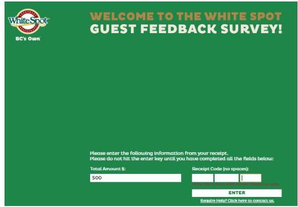 White Spot Survey