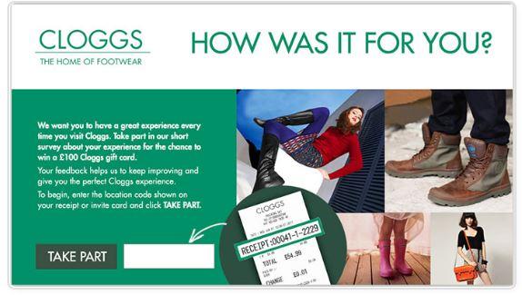 Cloggs Feedback Survey