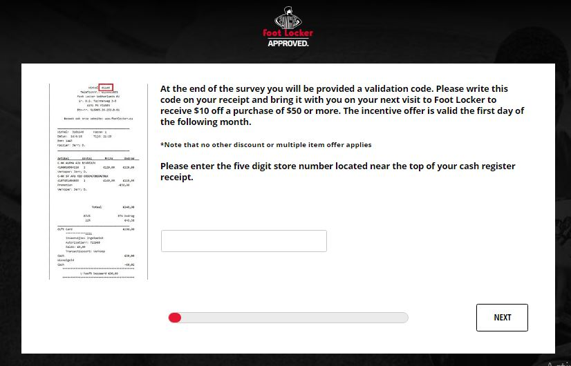Foot Locker Australia Survey