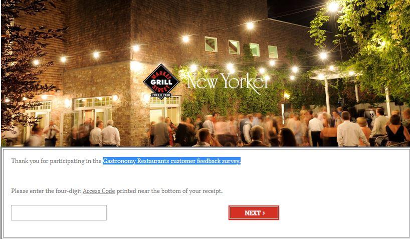 Gastronomy Restaurants Survey