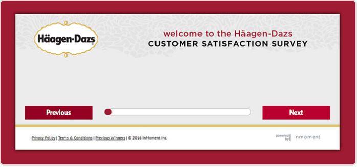 Häagen-Dazs Survey