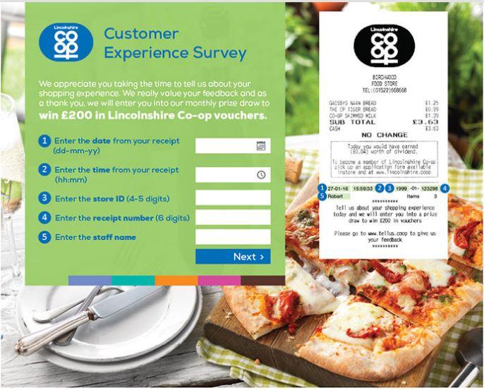 Lincolnshire Co-op Customer Satisfaction Survey