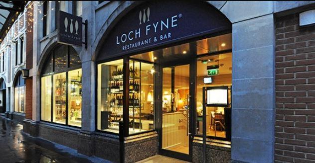 LochFyneseafoodandgrill Feedback Survey Rewards