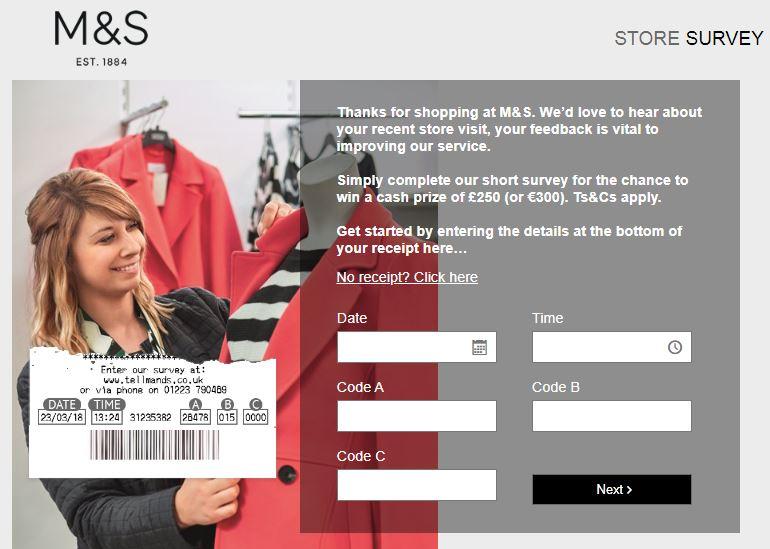 M&S Retail Survey