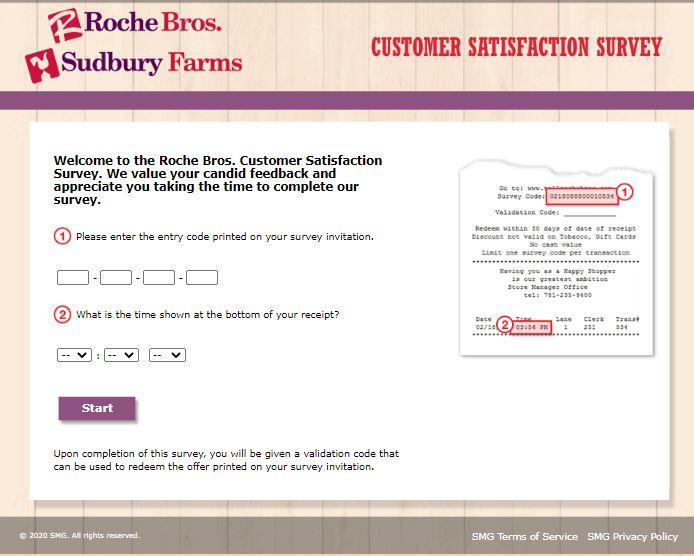Roche Bros.Survey