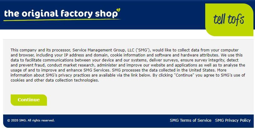 Tell Tofs Survey