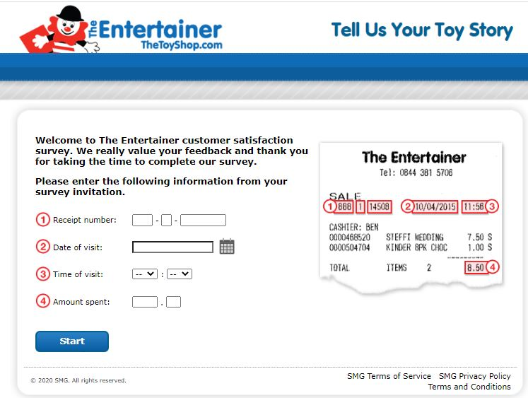 The Entertainer Survey