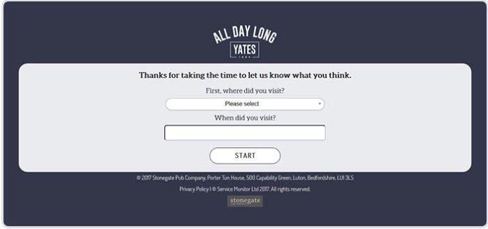 Yates Survey